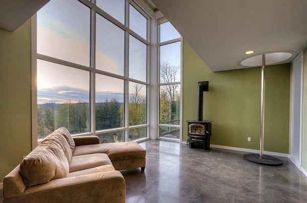 Thiết kế biệt thự lộng lẫy nằm ở dưới chân núi  tại Washington, Mỹ 2