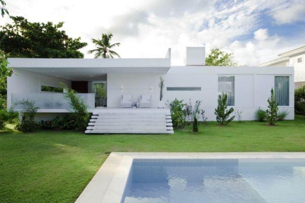 Thiết kế biệt thự lộng lẫy tầng trệt ở Camacari, Brazil 3