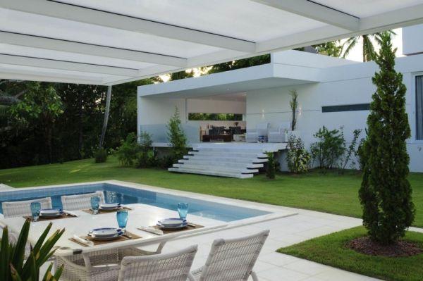 Thiết kế biệt thự lộng lẫy tầng trệt ở Camacari, Brazil 4