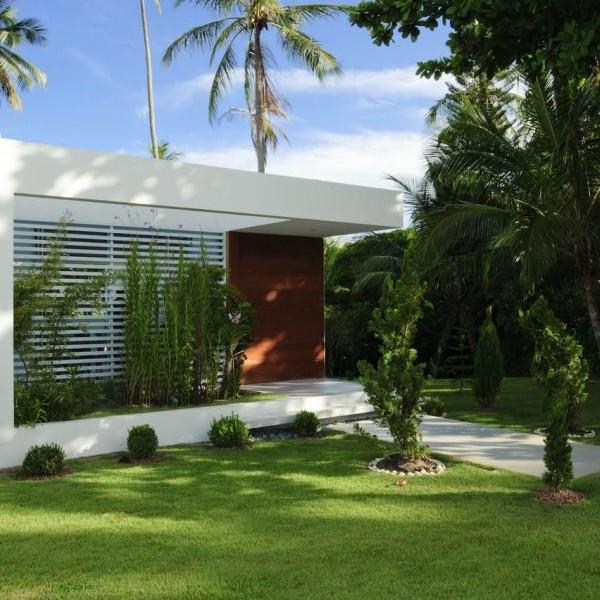 Thiết kế biệt thự lộng lẫy tầng trệt ở Camacari, Brazil