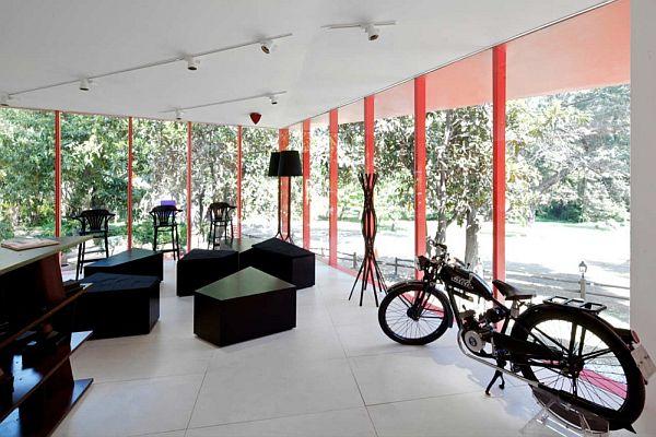 Thiết kế biệt thự nghỉ dưỡng hình hộp ở Huechuraba, Santiago, Chile 5