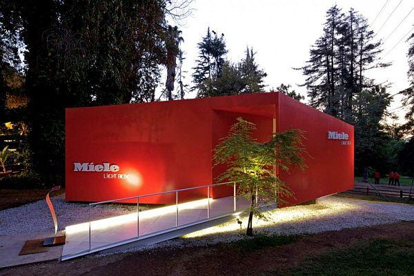 Thiết kế biệt thự nghỉ dưỡng hình hộp ở Huechuraba, Santiago, Chile 6