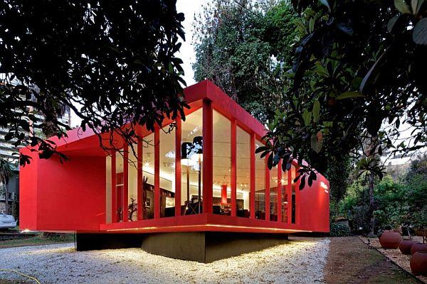 Thiết kế biệt thự nghỉ dưỡng hình hộp ở Huechuraba, Santiago, Chile