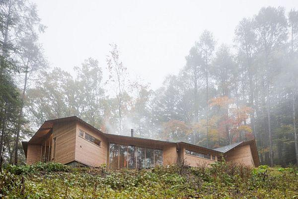 Thiết kế biệt thự xây dựng bằng gỗ ở Nhật Bản 2