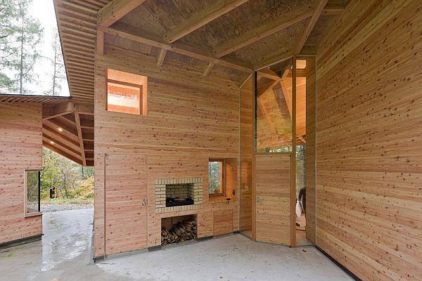 Thiết kế biệt thự xây dựng bằng gỗ ở Nhật Bản 4