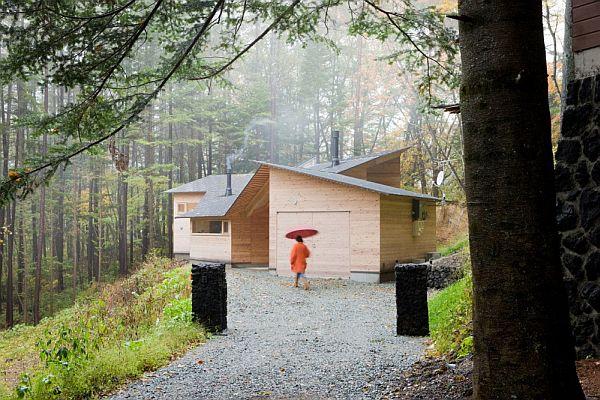 Thiết kế biệt thự xây dựng bằng gỗ ở Nhật Bản