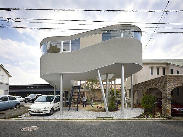 Thiết kế nhà phố ấn tượng và bắt mắt tại Hiroshima, Nhật Bản