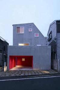 Thiết kế nhà phố hiện đại 2 tầng nằm ở Setagaya, Tokyo