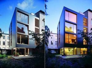 Thiết kế nhà phố hiện đại nằm ở Lyon, Pháp