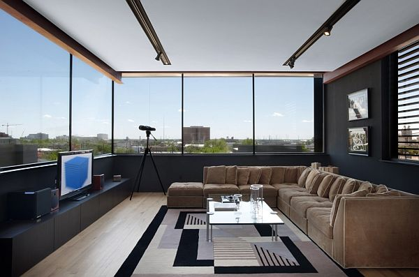 Mẫu biệt thự 2 tầng hiện đại ở Hoa Kỳ 6