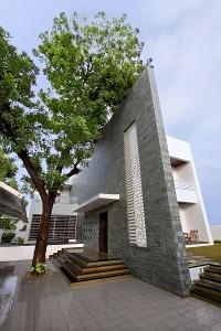 Mẫu biệt thự 2 tầng kết hợp nội thất hiện đại ở Ấn Độ 2