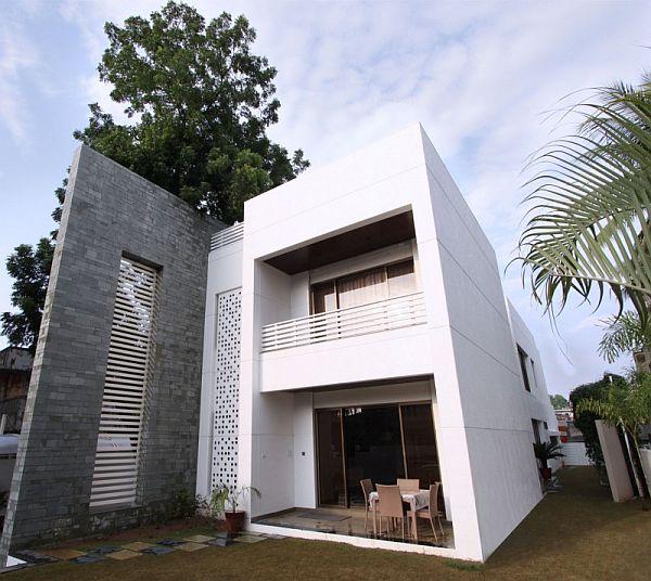 Mẫu biệt thự 2 tầng kết hợp nội thất hiện đại ở Ấn Độ 3
