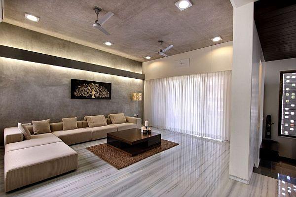 Mẫu biệt thự 2 tầng kết hợp nội thất hiện đại ở Ấn Độ 5