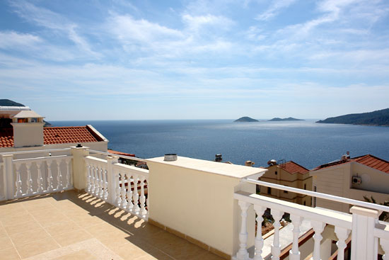 mau biet thu dep Kalkan Luxury Villas voi huong view ra bien