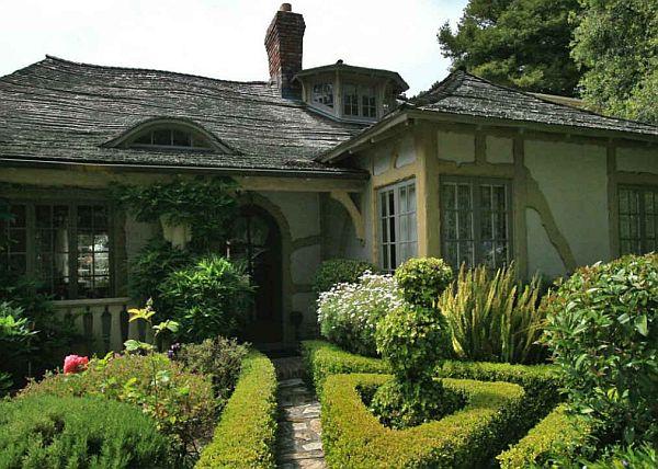 Mẫu biệt thự đẹp nhà vườn cổ tích ở California 2