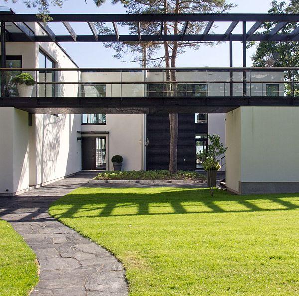 Mẫu biệt thự nhà vườn đẹp xanh mát ở Phần Lan 3