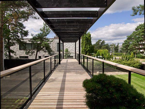 Mẫu biệt thự nhà vườn đẹp xanh mát ở Phần Lan 4