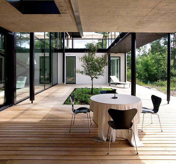 Mẫu biệt thự nhà vườn đẹp xanh mát ở Phần Lan 5