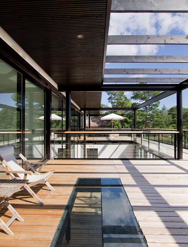 Mẫu biệt thự nhà vườn đẹp xanh mát ở Phần Lan 6