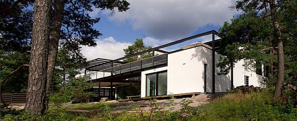 Mẫu biệt thự nhà vườn đẹp xanh mát ở Phần Lan