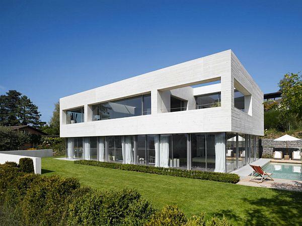 Mẫu biệt thự sáng tạo đương đại ở Küsnacht, Thụy Sĩ  5