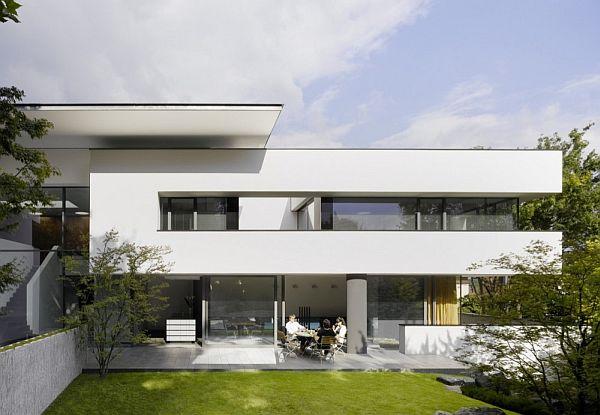 Mẫu biệt thự trên lô đất 377m2 nằm ở Stuttgart, Đức  2