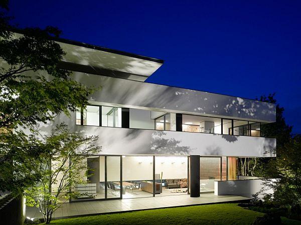 Mẫu biệt thự trên lô đất 377m2 nằm ở Stuttgart, Đức