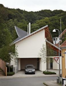 Mẫu nhà phố đẹp và hiện đại nằm ở Đan Mạch