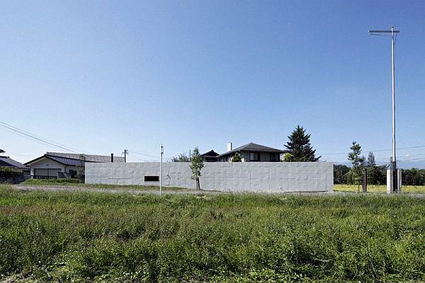 """Mẫu nhà phố giản đơn có tên MYZ """"Yến"""" House tại Nhật Bản 2"""