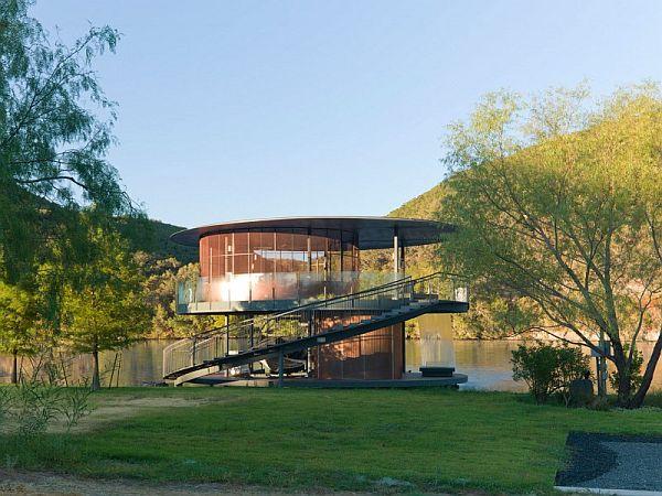 Mẫu thiết kế biệt thự độc đáo trong hồ Austin, Texas, Hoa Kỳ 2
