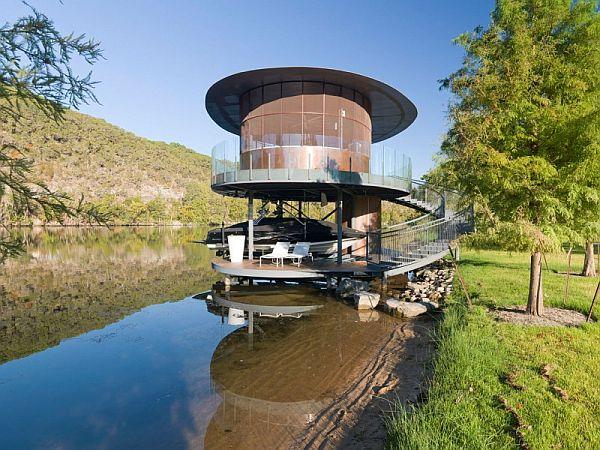 Mẫu thiết kế biệt thự độc đáo trong hồ Austin, Texas, Hoa Kỳ 3