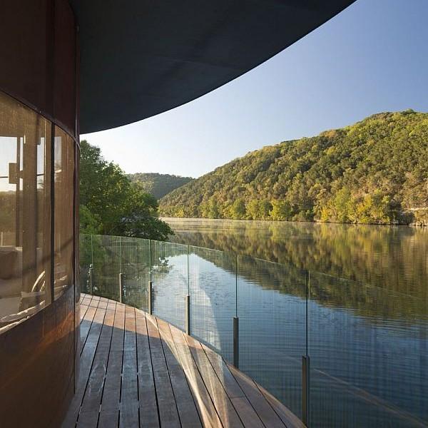 Mẫu thiết kế biệt thự độc đáo trong hồ Austin, Texas, Hoa Kỳ 7
