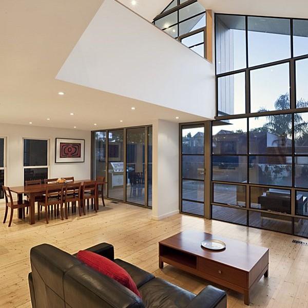 Thiết kế biệt thự 2 tầng mái lệch ở Melbourne, Australia 3