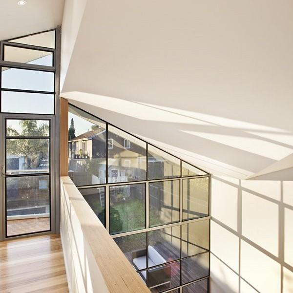 Thiết kế biệt thự 2 tầng mái lệch ở Melbourne, Australia 4