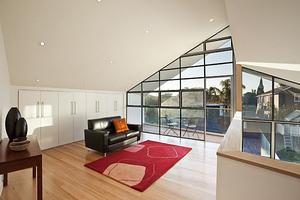 Thiết kế biệt thự 2 tầng mái lệch ở Melbourne, Australia 5