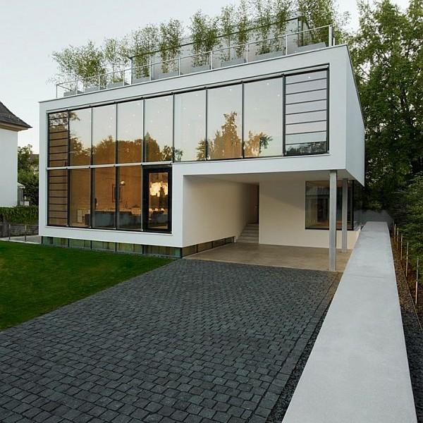 Thiết kế biệt thự 4 tầng nằm ở Karlsruhe, Đức 4