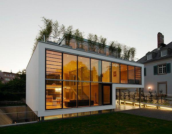 Thiết kế biệt thự 4 tầng nằm ở Karlsruhe, Đức