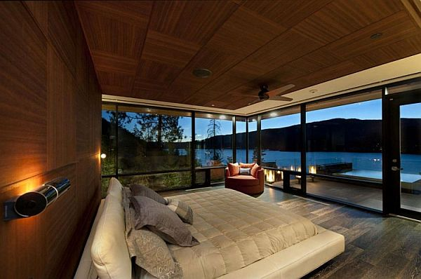 Thiết kế biệt thự ấn tượng nằm bên đồi ở Canada. 6