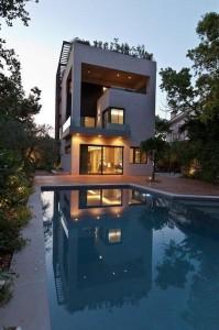Thiết kế biệt thự có bể bơi ở Athens, Hy Lạp