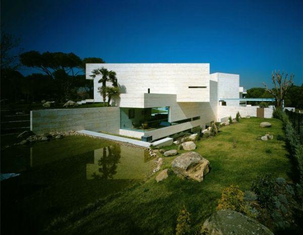 Thiết kế biệt thự đắt giá và lộng lẫy ở Madrid