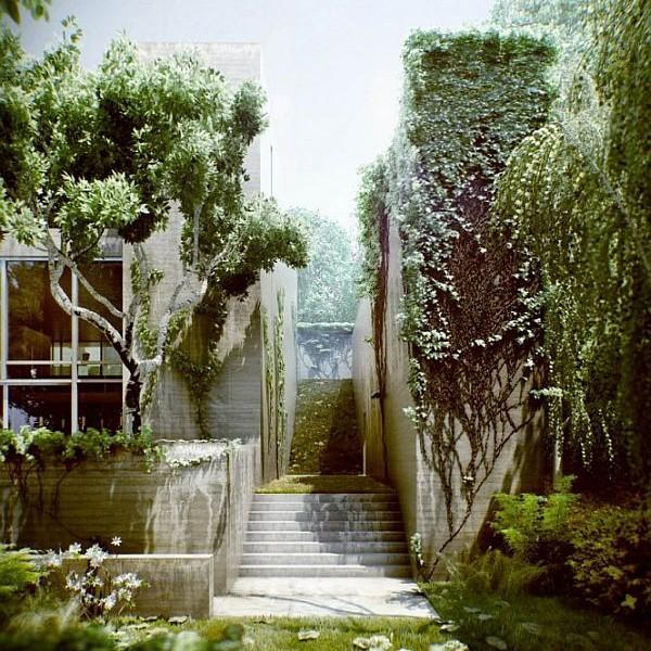 Thiết kế biệt thự đẹp có tên Nhà Rừng ở Hungary 3