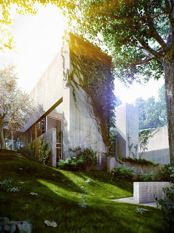 Thiết kế biệt thự đẹp có tên Nhà Rừng ở Hungary