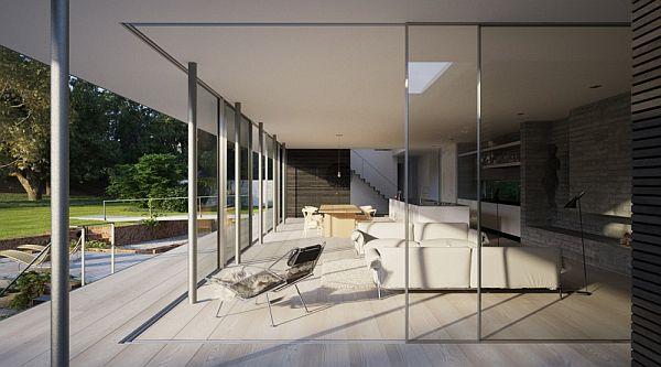 Thiết kế biệt thự đẹp sang trọng ở Anh 3
