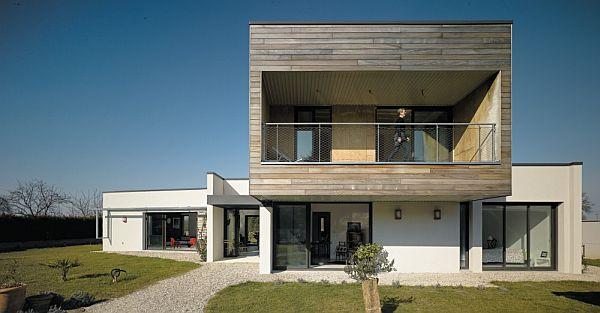 Thiết kế biệt thự đẹp với nội thất đơn giản ở Pháp 2