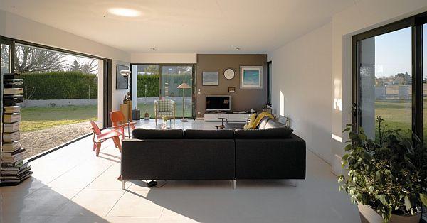 Thiết kế biệt thự đẹp với nội thất đơn giản ở Pháp 5