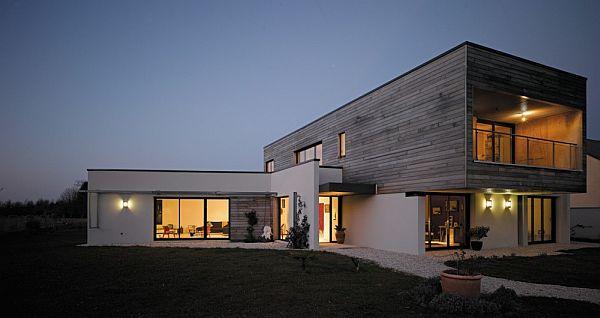 Thiết kế biệt thự đẹp với nội thất đơn giản ở Pháp