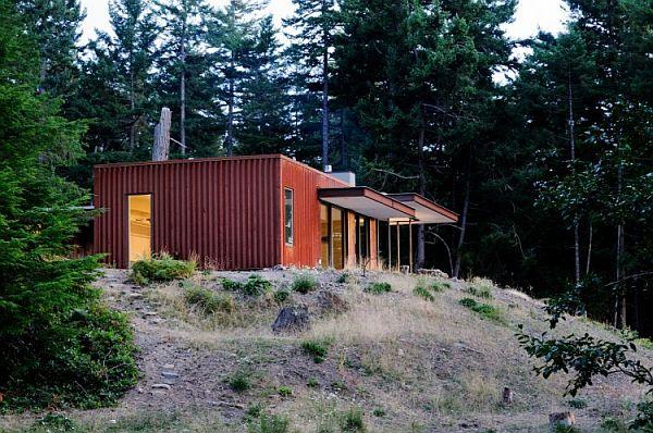 Thiết kế biệt thự hiện đại đáng yêu duy nhất ở USA