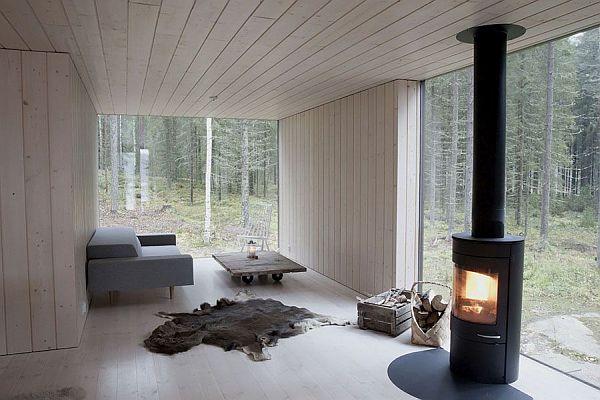 Thiết kế biệt thự nghỉ dưỡng đơn giản Ở Phần Lan 2