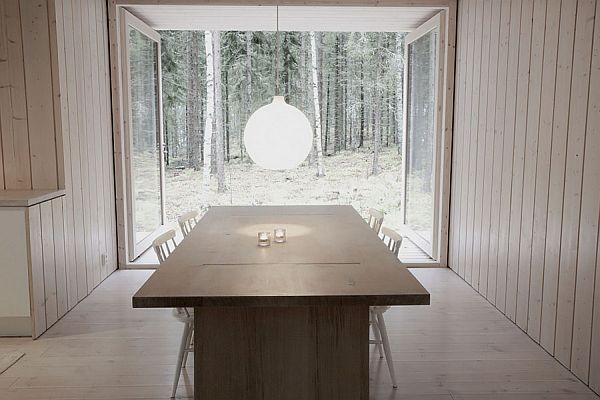 Thiết kế biệt thự nghỉ dưỡng đơn giản Ở Phần Lan 3
