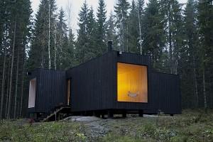 Thiết kế biệt thự nghỉ dưỡng đơn giản Ở Phần Lan